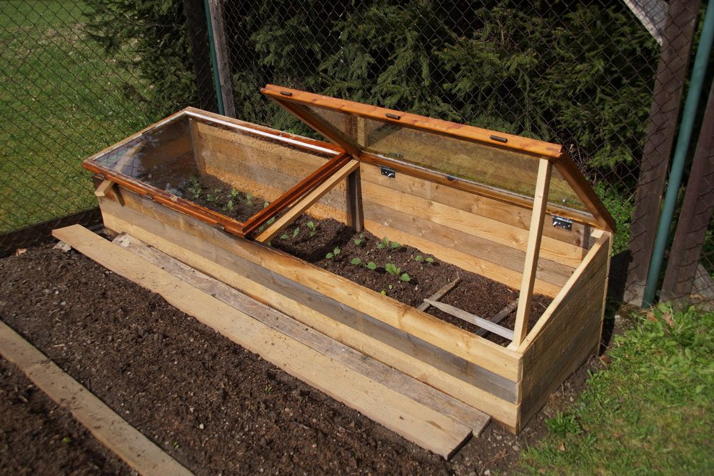 how to make a cold frame for vegetables