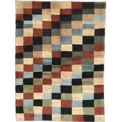 Gabbeh Persisch Teppich 108x150 Persischer Teppich