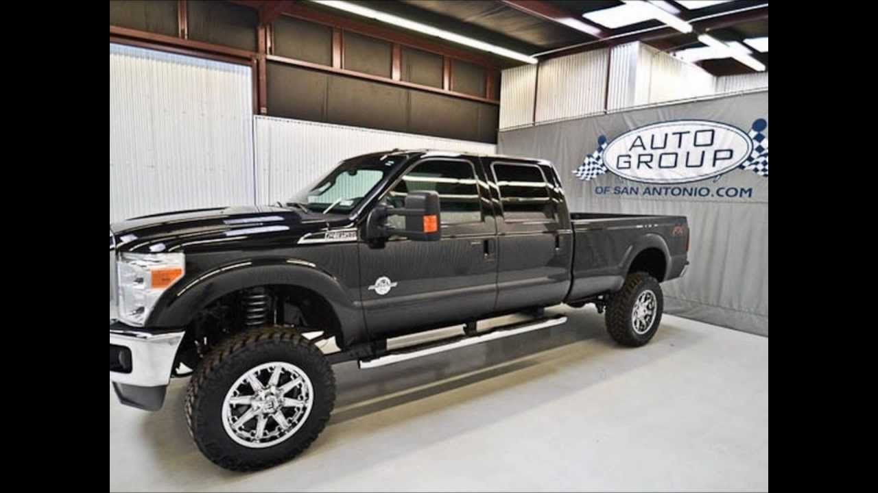 2012 ford f350 diesel lariat fx4 lifted truck for sale