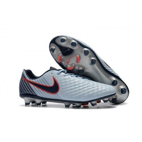 separation shoes a5e77 effe3 Nike Fußballschuhe Mit Socken Günstig Nike Magista Opus II FG Grau Rot