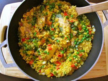 couscous con pollo