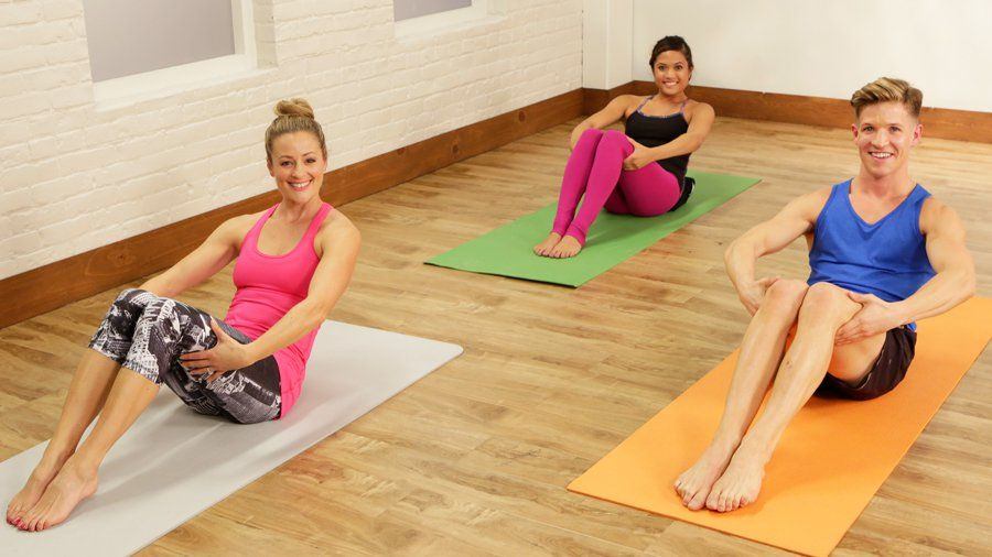 Your Abs Will Burn After This Barre Workout: Just 10 minutes out of your day will bring you closer to a tighter tummy. #pilatesworkoutvideos