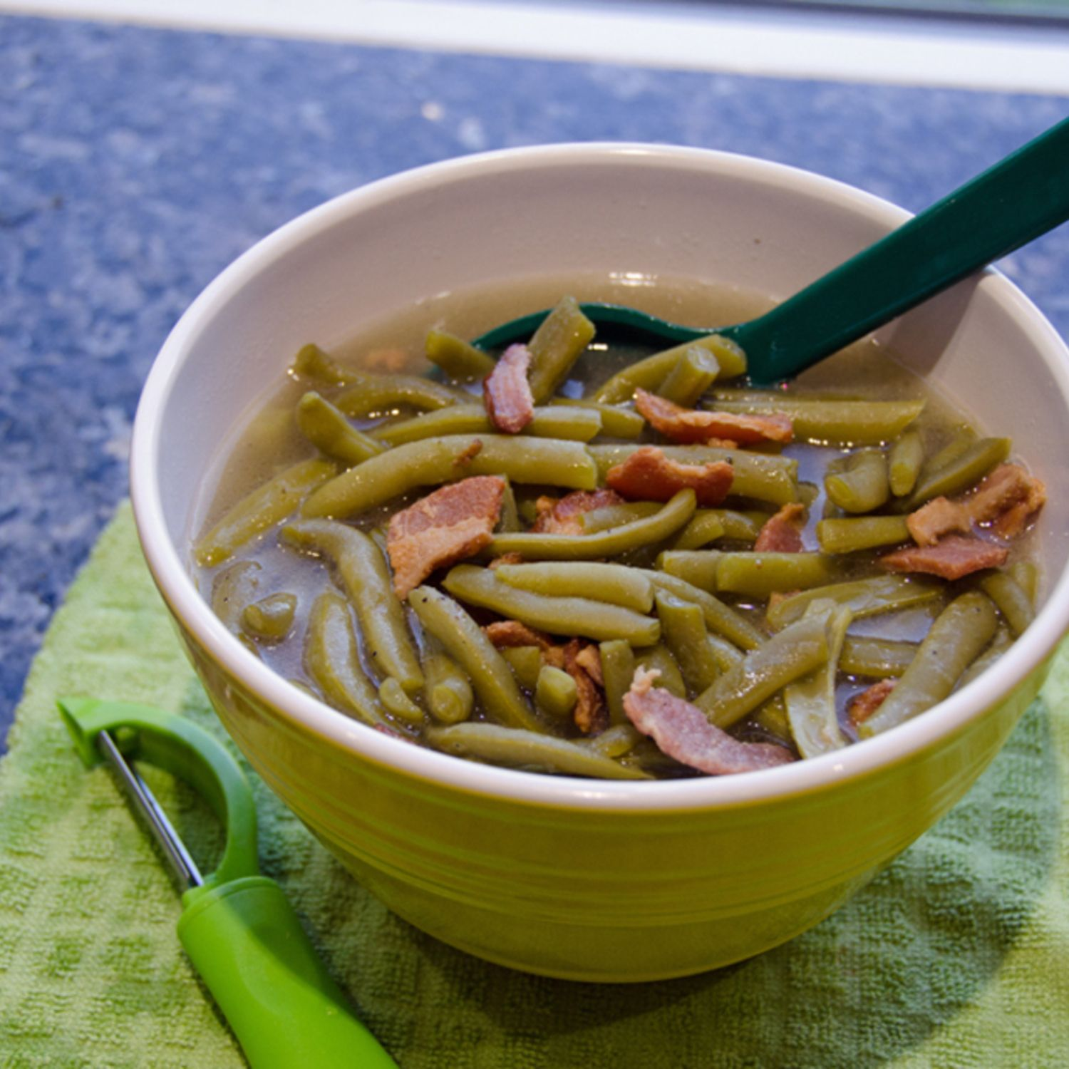 Green beans and bacon in the pressure cooker | Recipe | Pressure ...