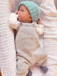 Baby Dungaree | Snekkerbukse pattern by Gudrun Loennecken