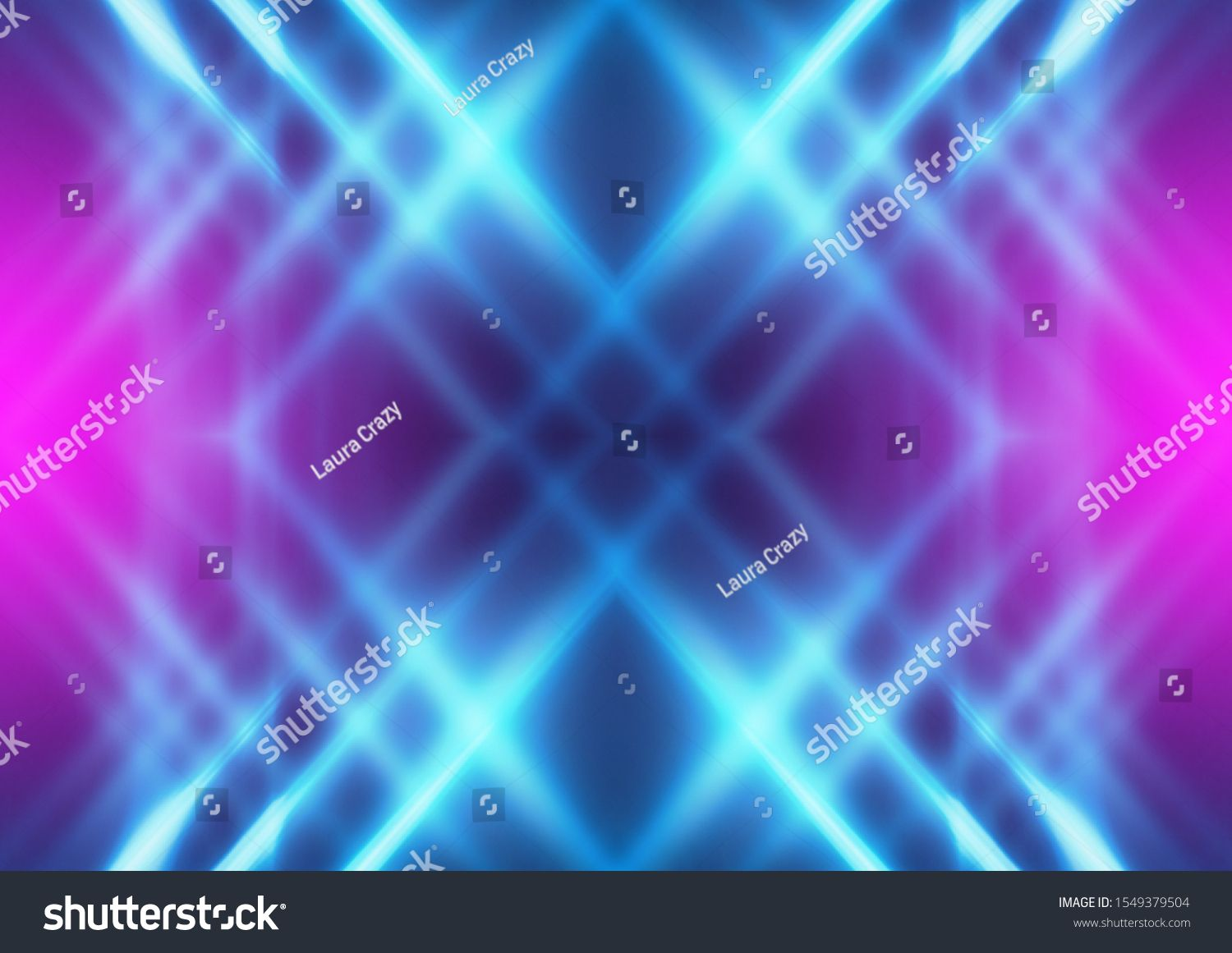 Dark abstract futuristic background. Neon lines glow. Neon lines, shapes. Multi-colored glow, blurry lights, bokeh. Empt #Ad , #Affiliate, #Neon#lines#glow#background