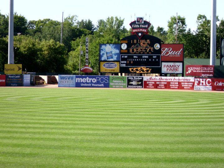 Fifth Third Ballpark In Comstock Park Michigan Michigan