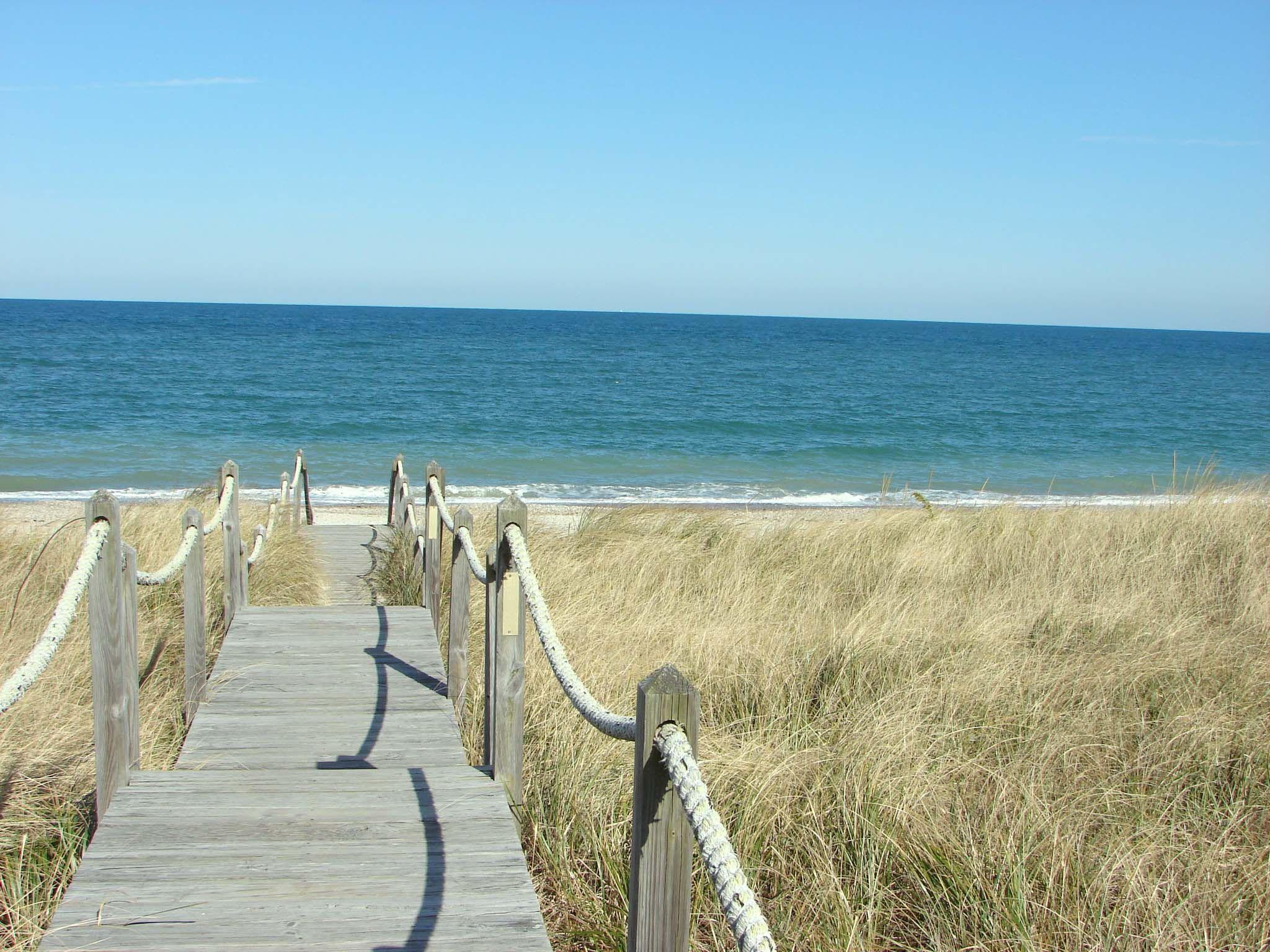 Sandwich Beach On Cape Cod