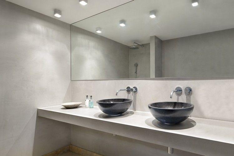 Luminaire salle de bains et aménagement en 53 idées cool! Pinterest