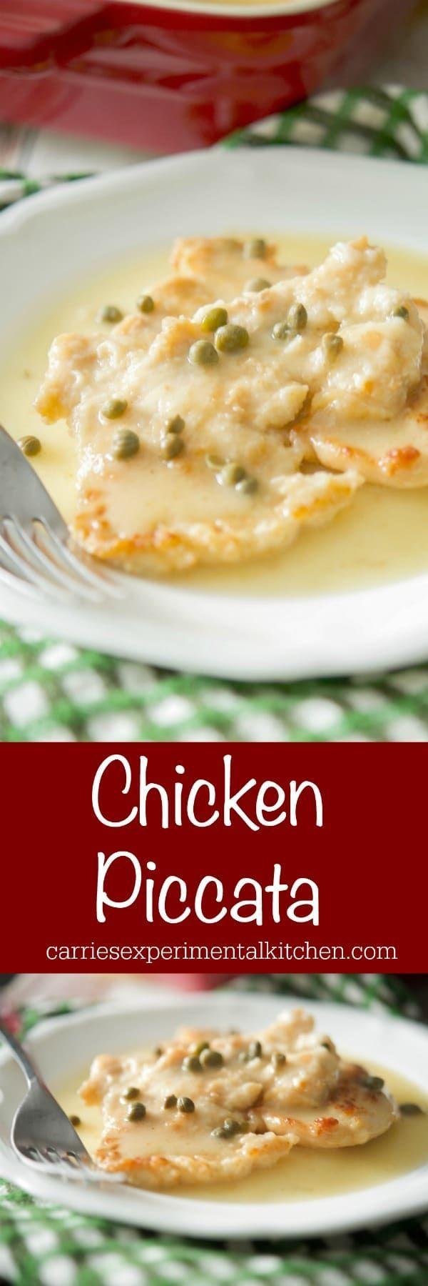 Chicken Piccata Recipe Chicken Recipes Boneless Chicken Piccata Chicken Crockpot Recipes