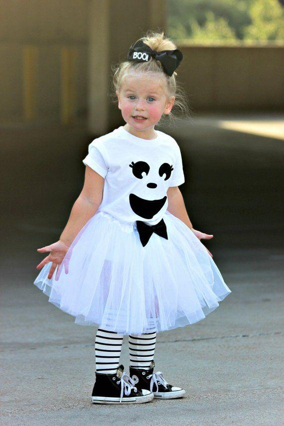 Girls Ghost Costume Girls Halloween Costume Baby Girl Ghost Halloween Costume