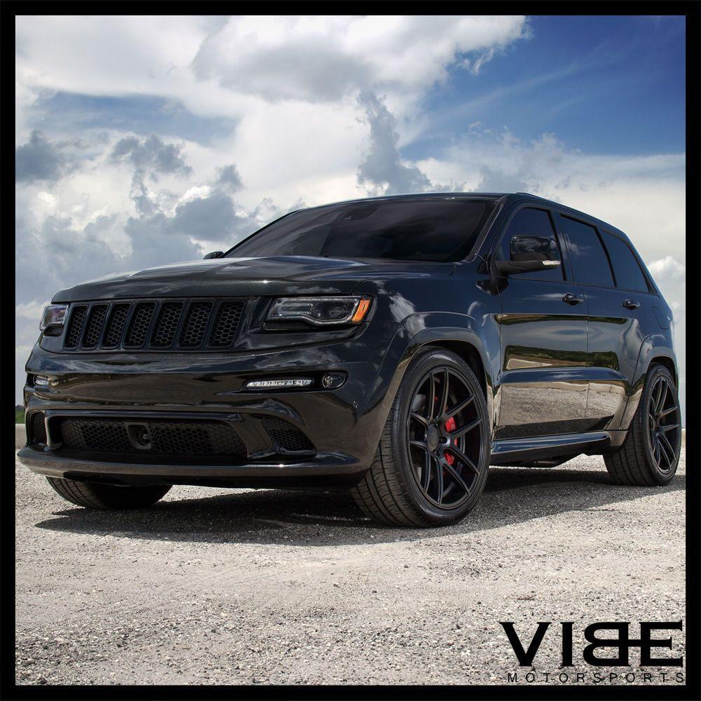 22 Velgen Vmb5 Black Concave Wheels Fits Jeep Grand Cherokee