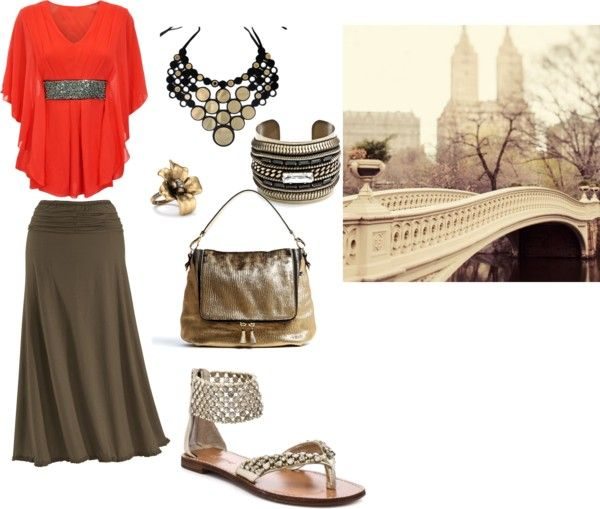 """A Autumn Day in the city"" by crystalm16 on Polyvore"