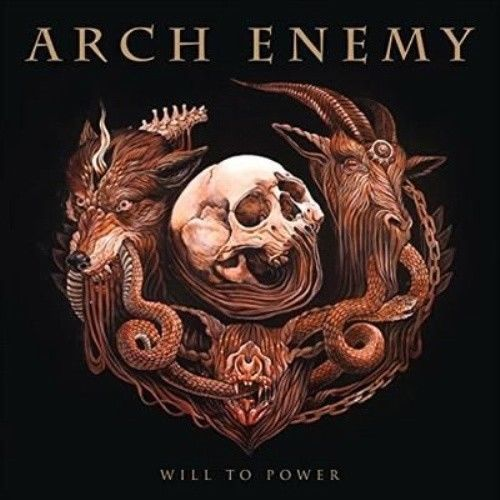 Will To Power Enemy Arch Compact Disc Arch Enemy Album Cover