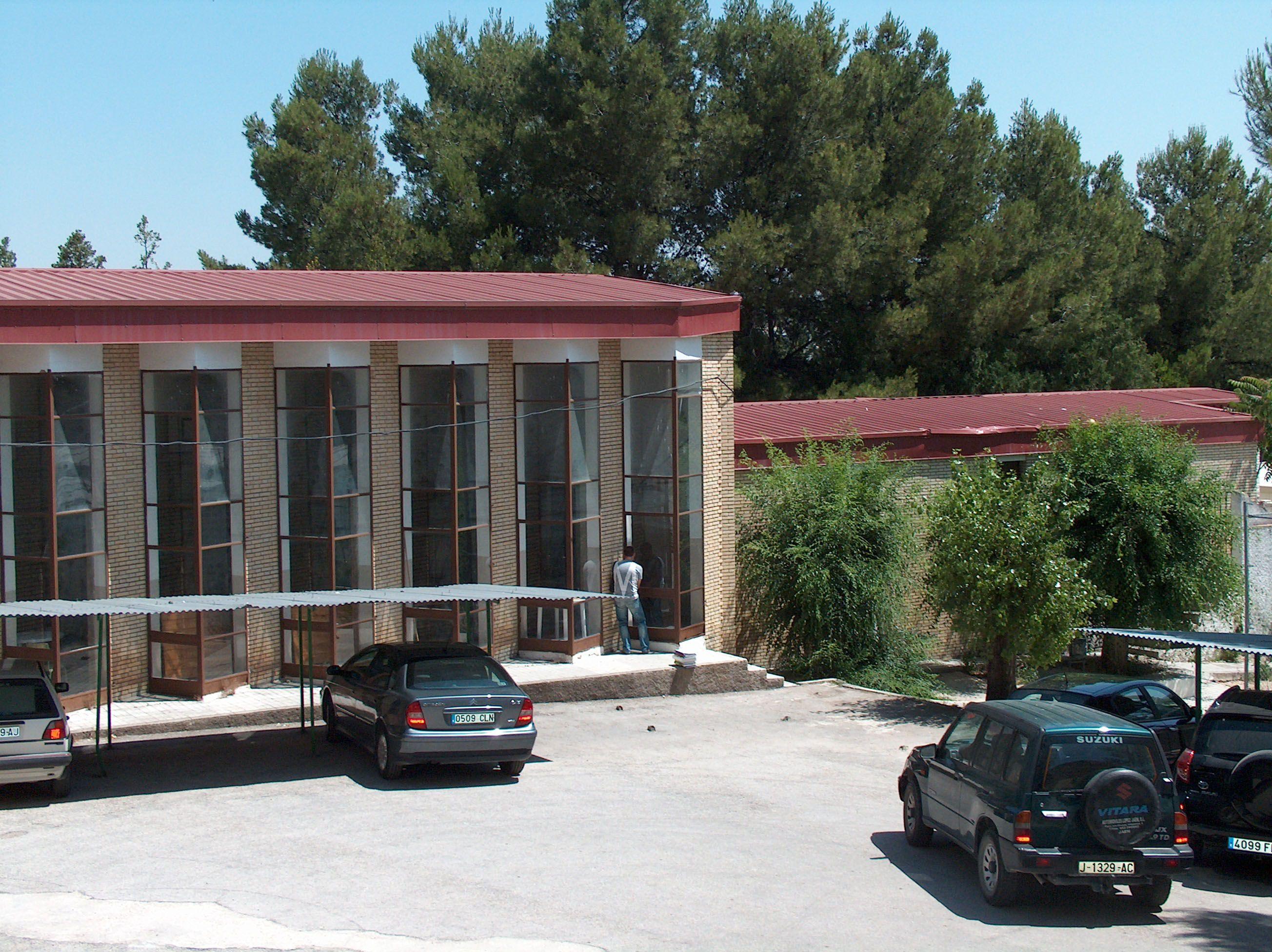 el antiguo gimnasio del Instituto Fernando III de Martos