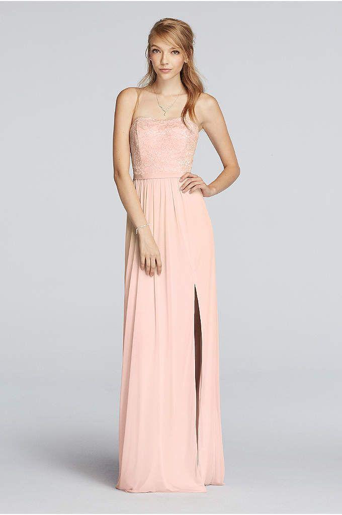 Lace Bridesmaid Dresses in Various Styles | David\'s Bridal | Bridal ...