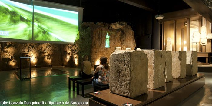 Badalona Museum - Book ahead at the Museum of Badalona if you want to visit the archaeological remains an Iberian settlement founded centuries before the arrival of the Romans #BCNmoltmes #Badalona #BCNmoltmes #Museum #art #architecture #building #landmark #roman