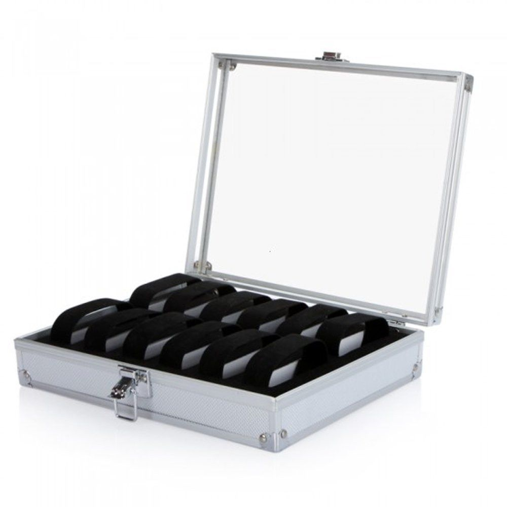 12 Slot Watch or Jewelry Display Box Display boxes Slot and Products
