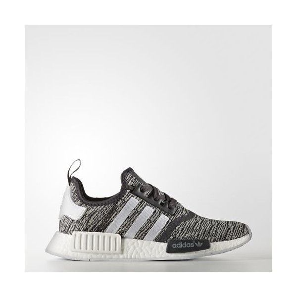 adidas NMD_R1 Shoes - Black | adidas US ($130) ? liked on Polyvore featuring