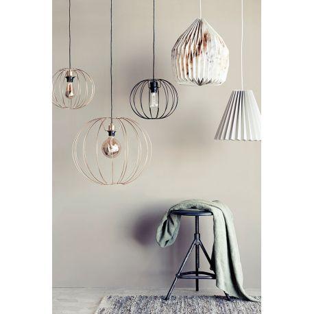 abat jour en papier pliss taupe par brostecph abat jour origami taupe luminaire design et. Black Bedroom Furniture Sets. Home Design Ideas