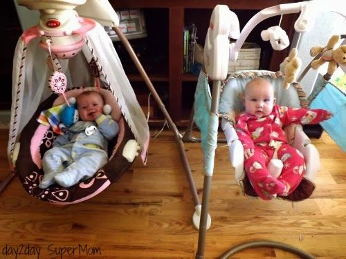 Power Plus Swings Surviving Twins the First 6 Months: 6 Must-Have Baby Items