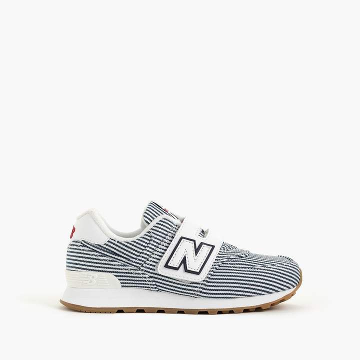 J.Crew Kids' New Balance® for crewcuts 574 Velcro® sneakers