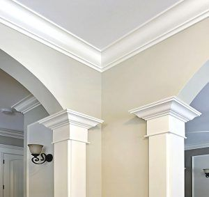 The Benefits Of Crown Moulding Ceiling Design Ceiling Trim Moldings And Trim