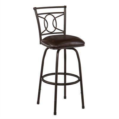 Awesome Boston Loft Furnishings Rosina Adjustable Counter Bar Stool Short Links Chair Design For Home Short Linksinfo