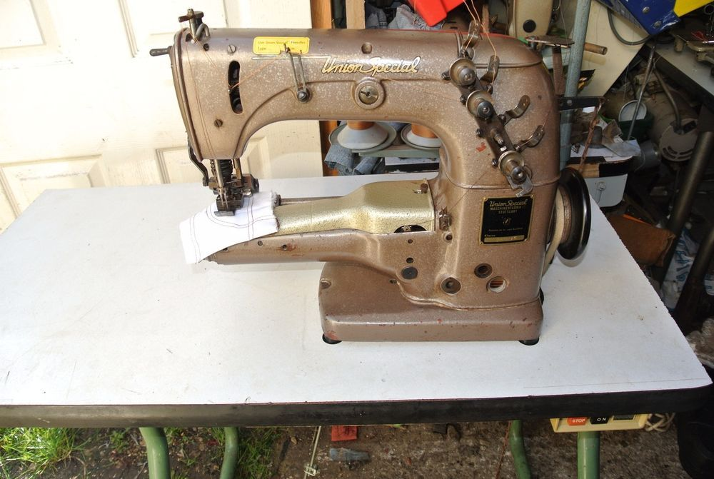 CYLINDER ARM UNION SPECIAL TWIN NEEDLE COVERSTITCH Industrial Sewing Classy Industrial Sewing Machine Portland