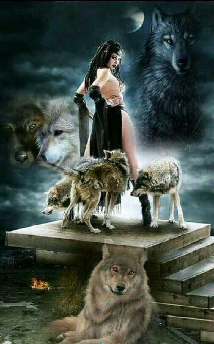 Luna And Alpha Suprem | Lobos | Pinterest