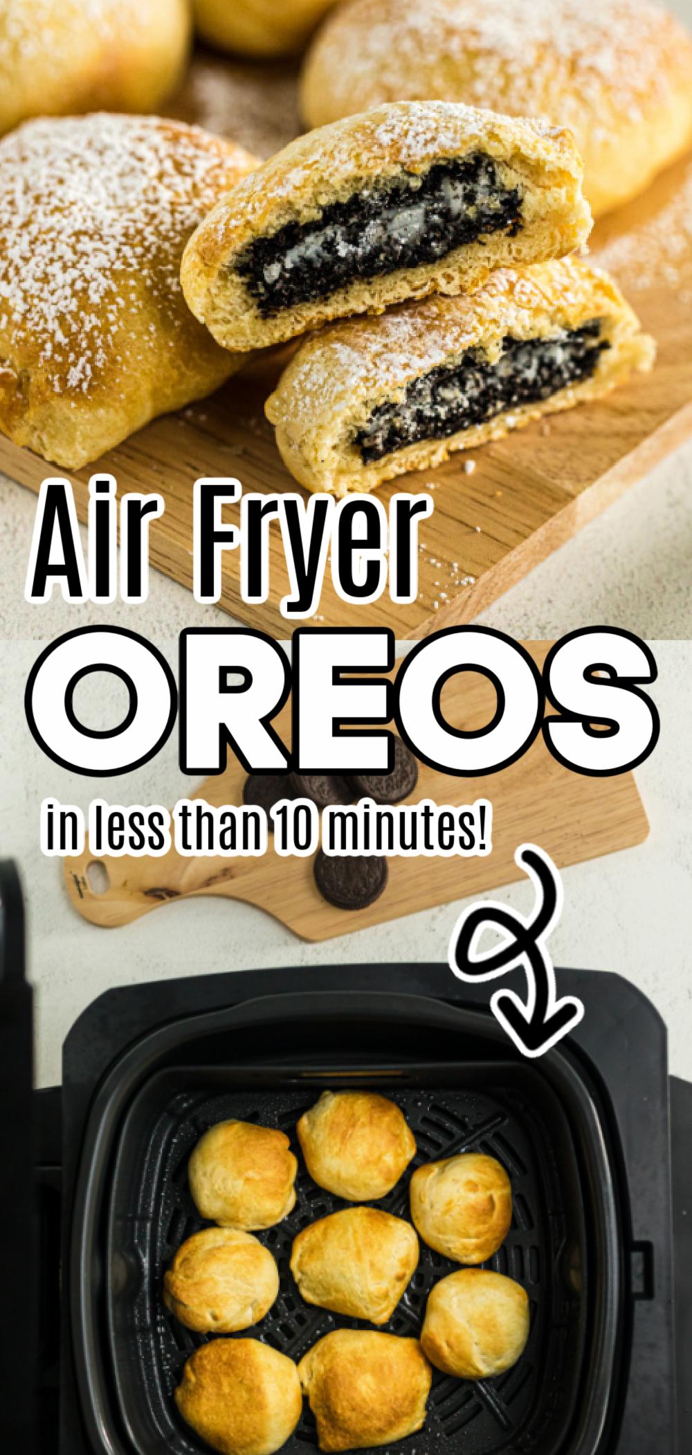 Air Fryer Oreos Recipe in 2020 Fair food recipes