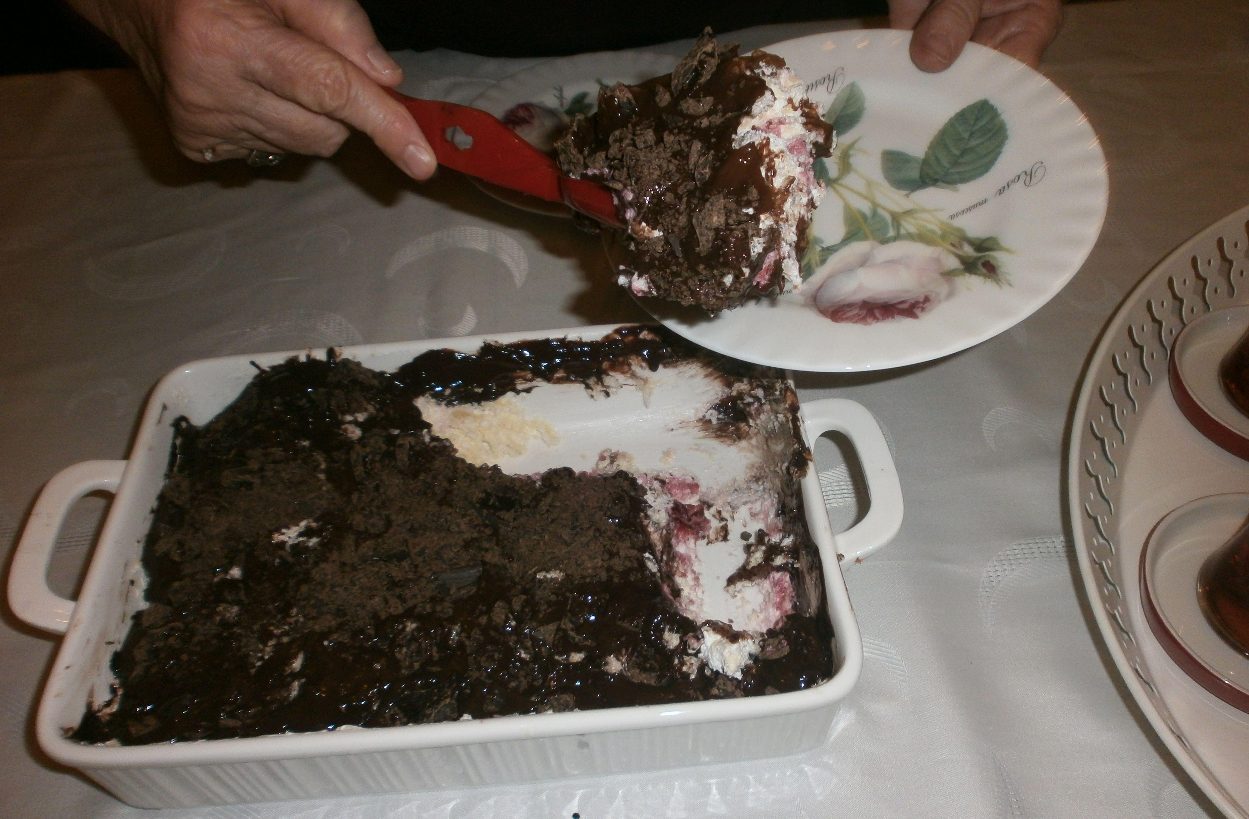 my chocolate & cherry cake