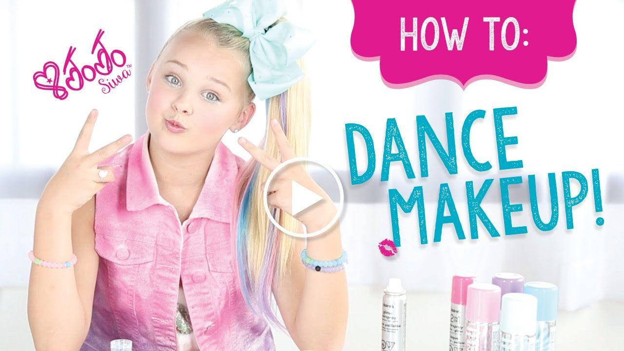 How To Create The Perfect Jojo Siwa Dance Make Up Make