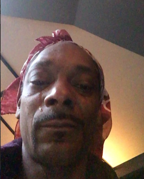 Does Anyone Know Why Snoop Dogg Cried On Instagram. (With