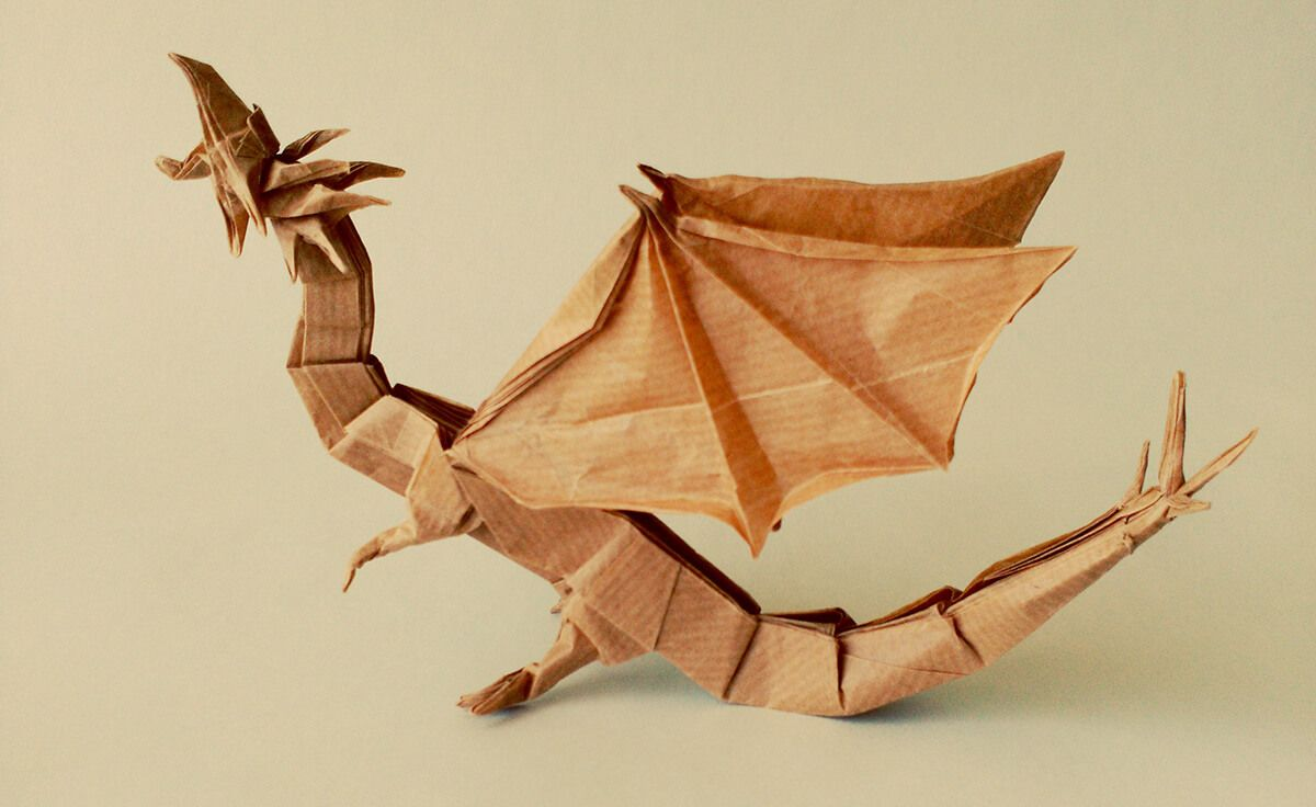 Photo of Western Dragon, Designed by Shuki Kato and Folded by DanielBSB