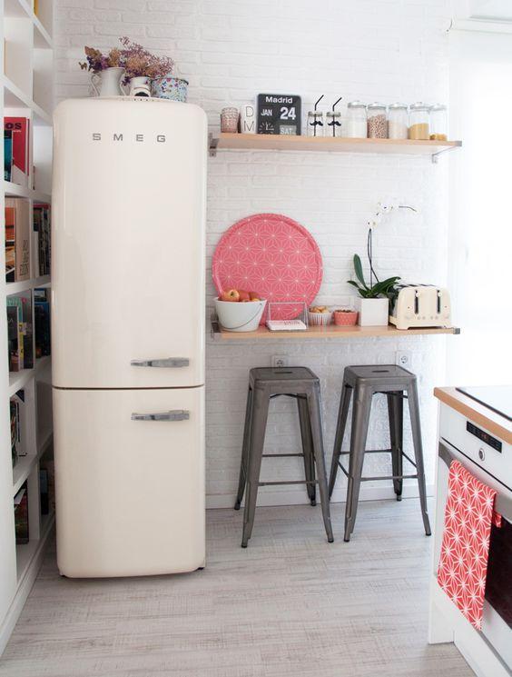 30x kleine keuken inrichten + tips   Küche, Küchen ideen und Theken