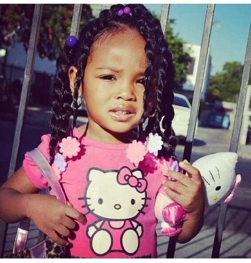 Hair De La Cr 232 Me Black Baby Hairstyles Baby Hairstyles