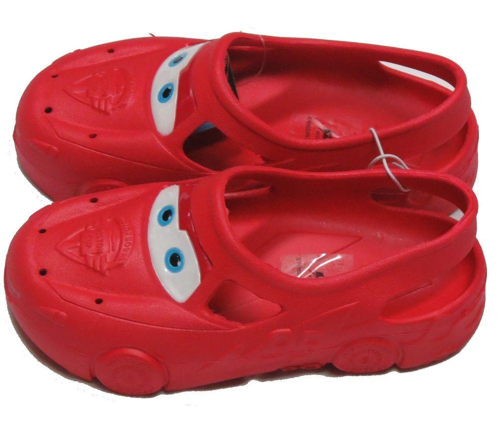 Disney Car Lightning McQueen Kids Croc