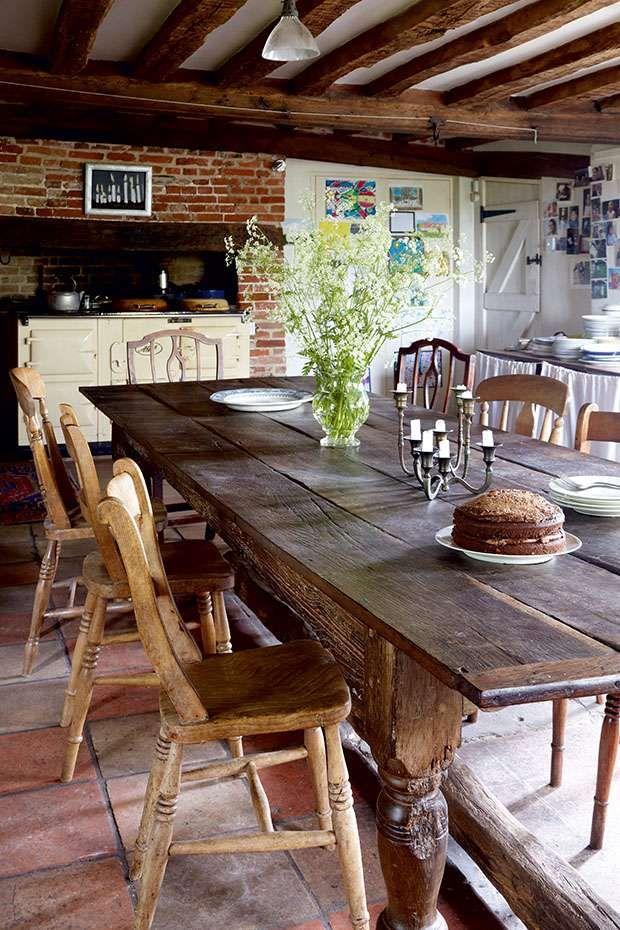 Love That Old Farmhouse Table Decoracao Ecletica Decoracao De