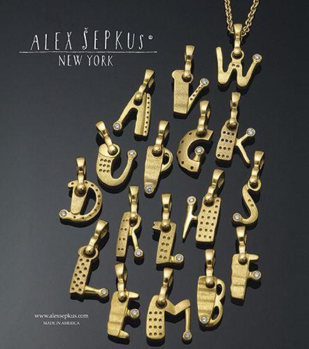 Alex sepkus alphabet pendants a z m b metalsmithing alex sepkus alphabet pendants a z m b aloadofball Image collections