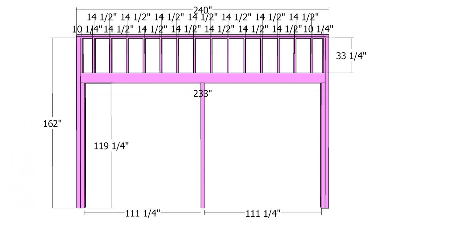 20x20 Clerestory Shed Free Shed Plans And Drawings Myoutdoorplans Free Woodworking Plans And Projects Diy Shed Wood Free Shed Plans Diy Shed Shed Plans