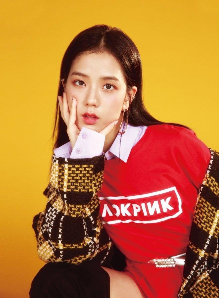Blackpink Jisoo Yellow Kpop Blackpink Black Pink