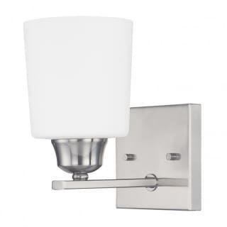 Photo of Capital Lighting 615311BN-339 Brushed Nickel Hayden Single Light Bathroom Sconce – LightingDirect.com