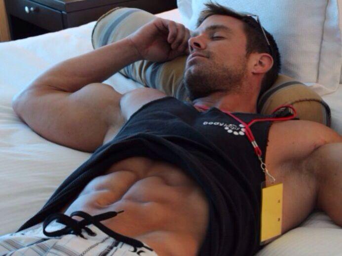 Sleeping Sexy Man 72