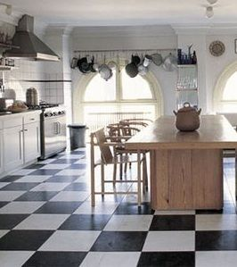 Linoleum Flooring Basics Home White Kitchen Floor White Kitchen Decor
