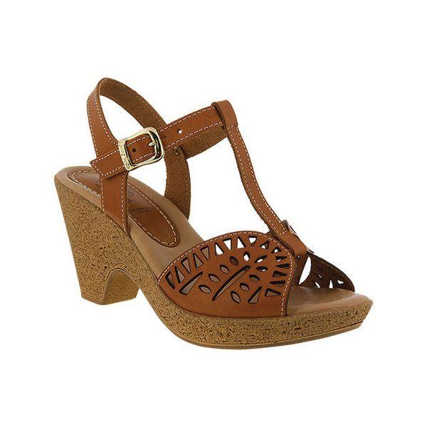 Women's Spring Step Ekam T Strap Sandal (720 SEK) ❤ liked on Polyvore  featuring · Spring Step ShoesT Strap SandalsShoes SandalsBrown  ShoeFootwearCasual