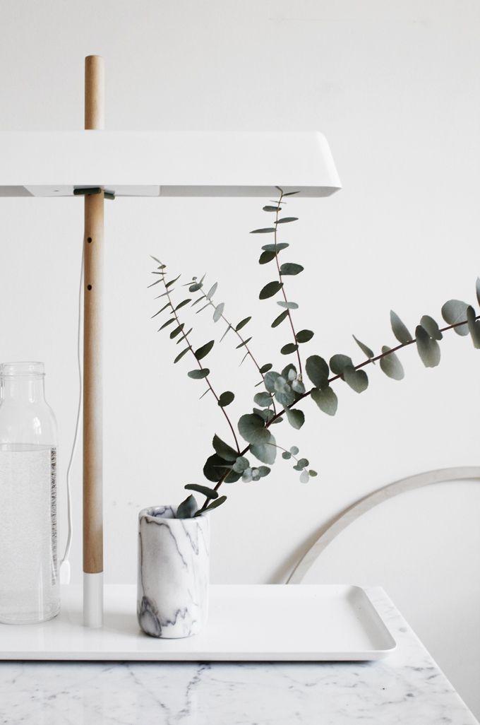marble #eucalyptus #design m a r b l e Pinterest August - Pflanzen Deko Wohnzimmer