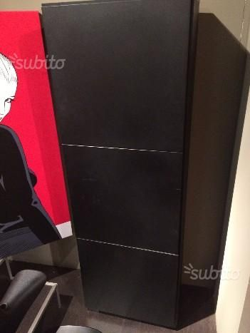 Mobile domino 3 ante nero opaco arredamento e casalinghi in vendita a salerno bordese design - Video casalinghi mobile ...