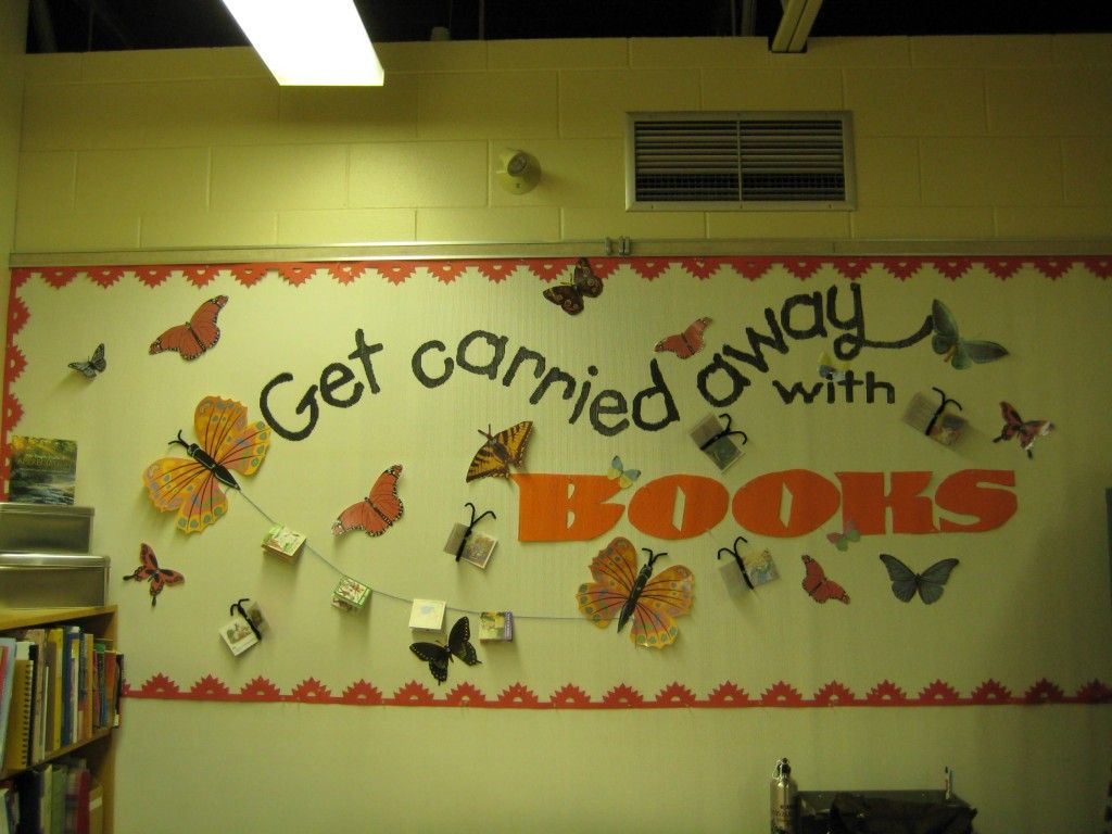 February Library Bulletin Board Ideas | 11 sep all season posted in ...