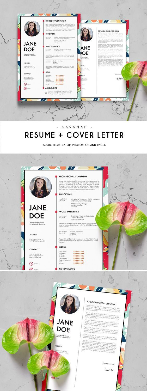 cv template resume curriculum vitae digital print resume