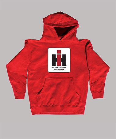 f295d6b4 Take a look at this Red 'International Harvester' Hoodie - Kids by ...